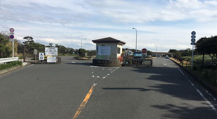 城ヶ島東磯へのアクセス1