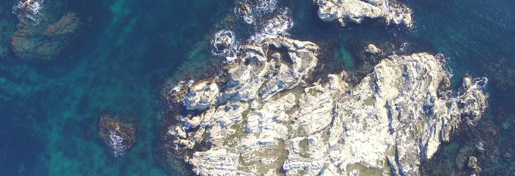 三浦半島空撮釣り情報マップ