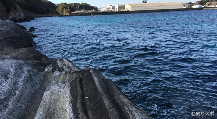 水垂釣りポイント2