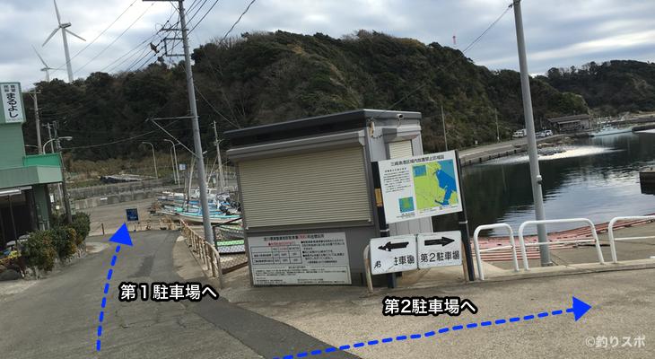 宮川港入口