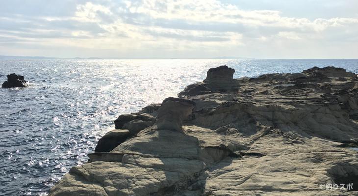 剱崎ベット島の磯