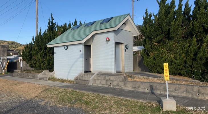 乙浜港トイレ