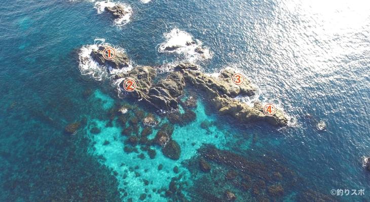 江ノ島釣り座