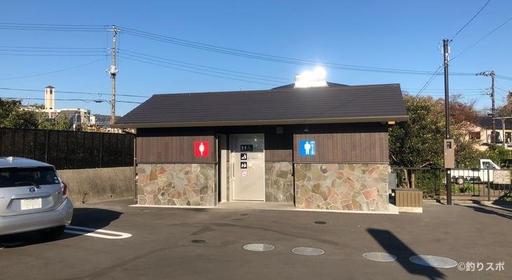 橋立駐車場トイレ