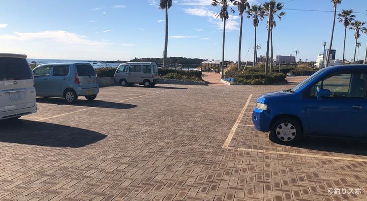 磯笛公園駐車場