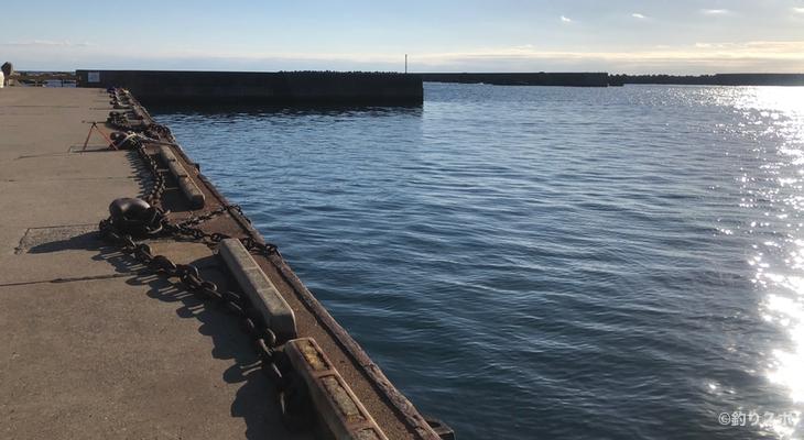 乙浜港釣り座⑥