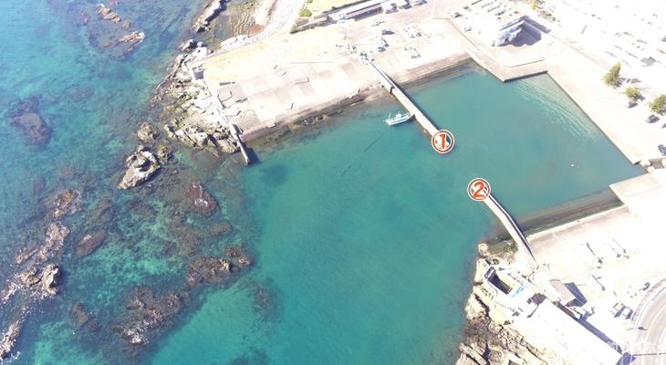 小戸港釣り座