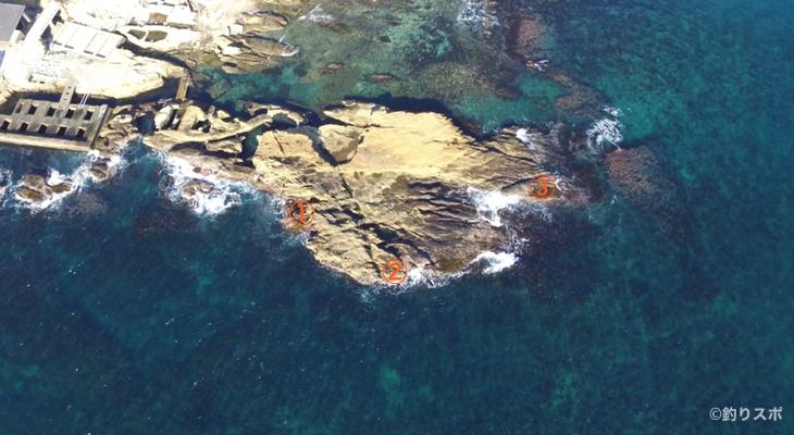 宝来島釣り座