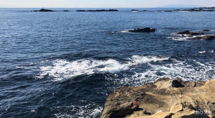 向タタミ島釣り座1
