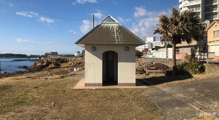 向タタミ島トイレ