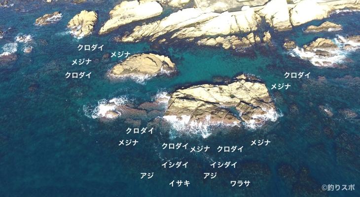大島トガリ島空撮