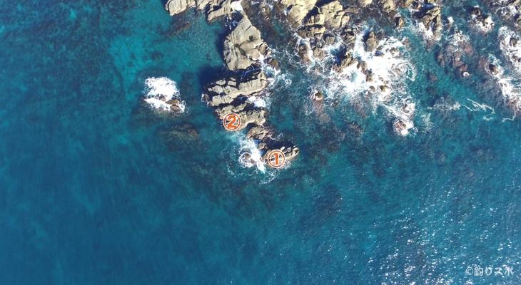ナラ島釣り座