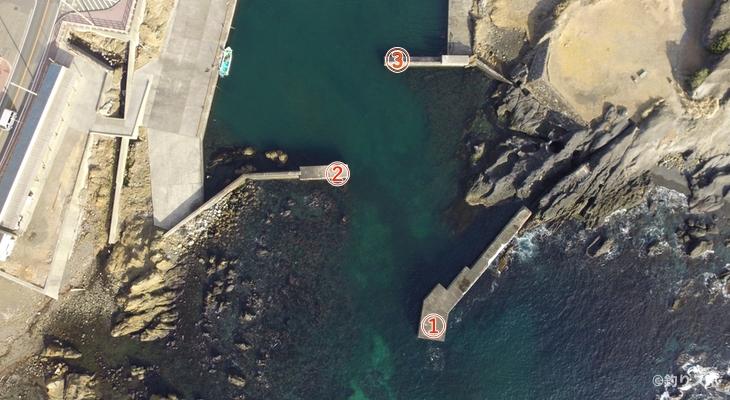 野島西港釣り座