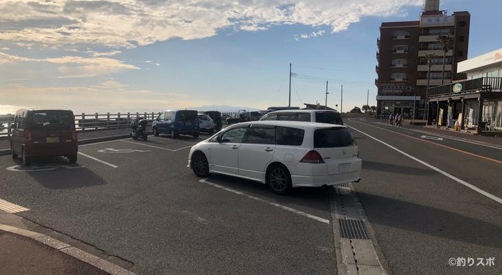野島西港駐車場