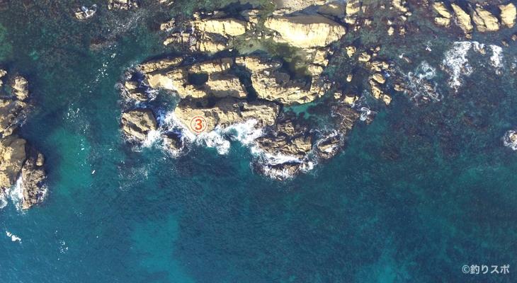 珍宝島釣り座
