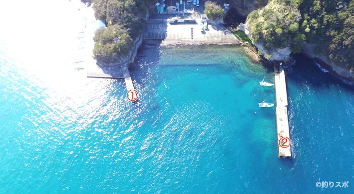 岩地港釣り座