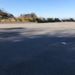 岩地港海岸駐車場に車停める。