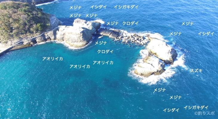 陸トンビ空撮釣り場情報