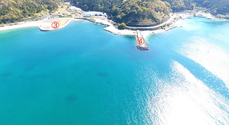 三木里海水浴場釣り場2