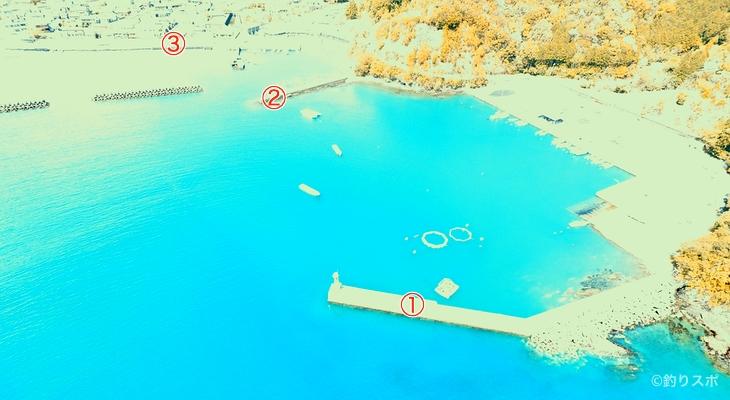 三浦港釣り座