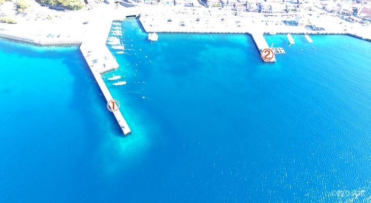 三木浦港釣り座