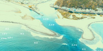 相賀浦空撮釣り場情報