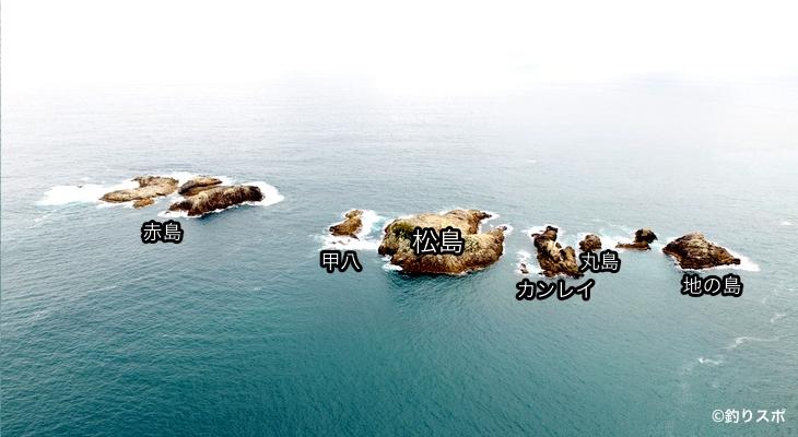 松島周辺の磯