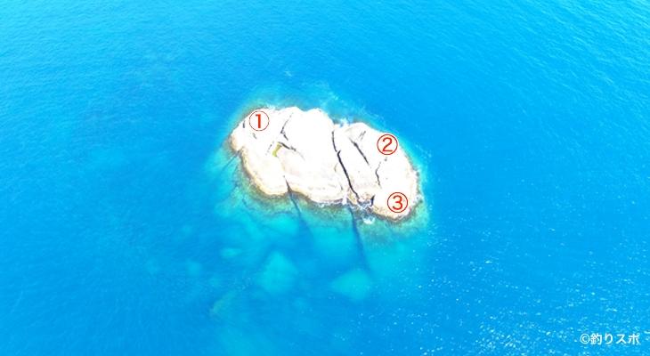 箱島釣り座