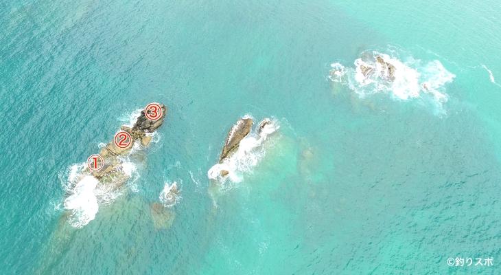 金光坊島釣り座