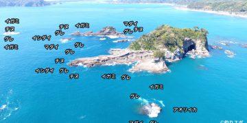 九龍島空撮釣り場情報