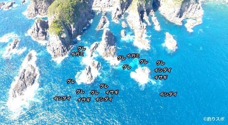 マタイチシンスケ空撮釣り場情報