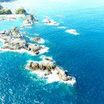 沖の赤島釣り座