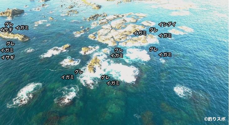 長島空撮釣り場情報