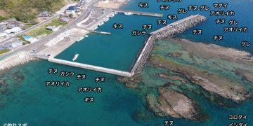 一本松漁港空撮釣り場情報