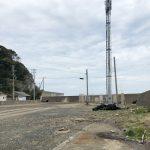 阿尾漁港駐車スペース付近