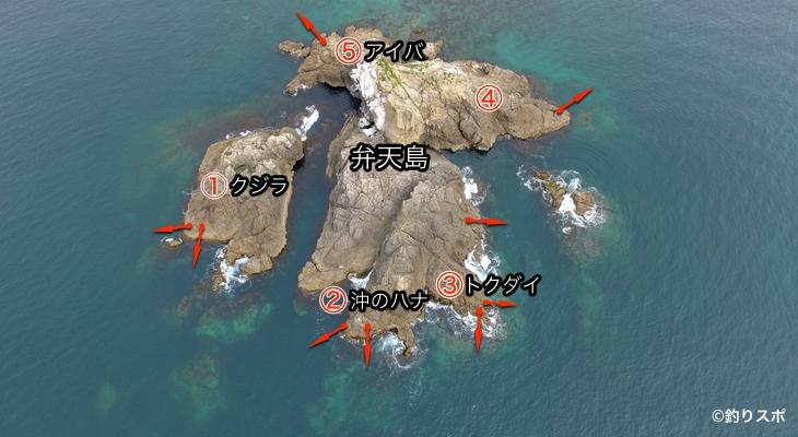 弁天島釣り座