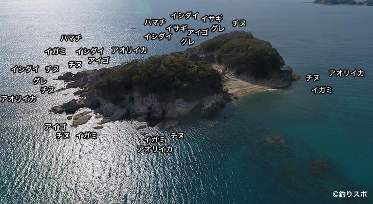 鹿島空撮釣り場情報