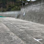 産湯漁港駐車スペース