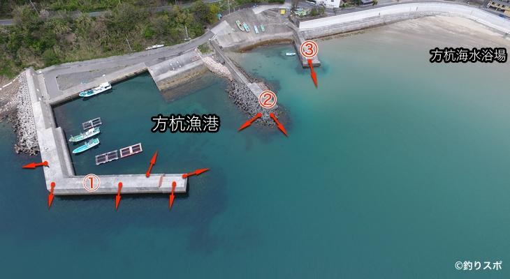 方杭漁港ポイント