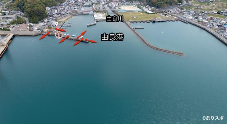 由良港ポイント